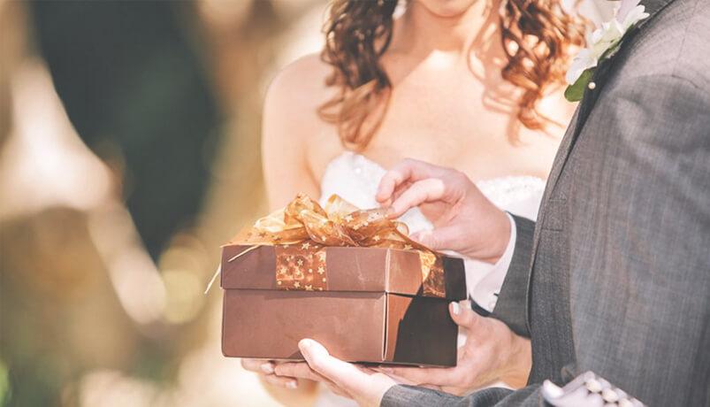 9 Интересни подаръци за гости на сватба