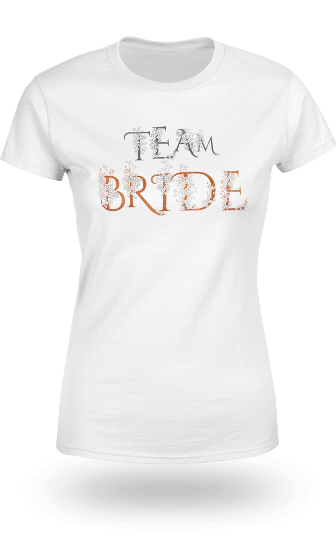 Тениска за моминско парти Team Bride